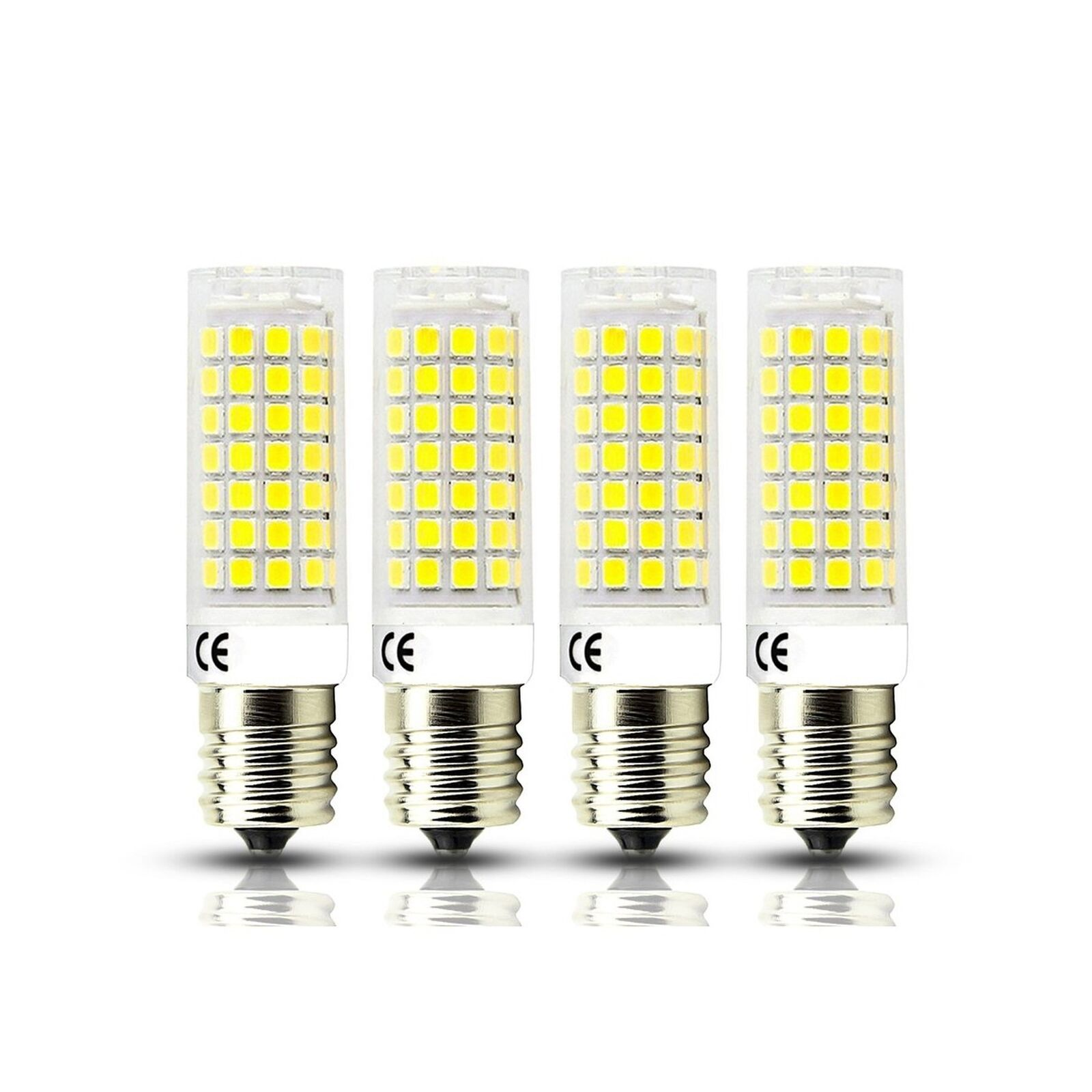 E17 LED Bulb Dimmable Seealle 4W Daylight White 5000K 40W Halogen Microwave Ove
