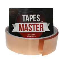 """Copper Foil Tape - 1"""" X 10ft -  EMI Conductive Adhesive / Ship from USA"""