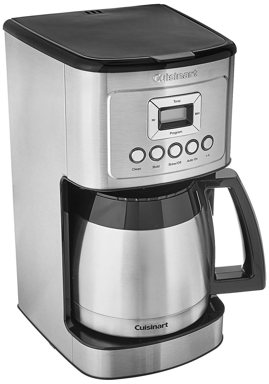 Cuisinart DCC-3400 12-Cup programmable Thermique Cafetière en acier inoxydable,