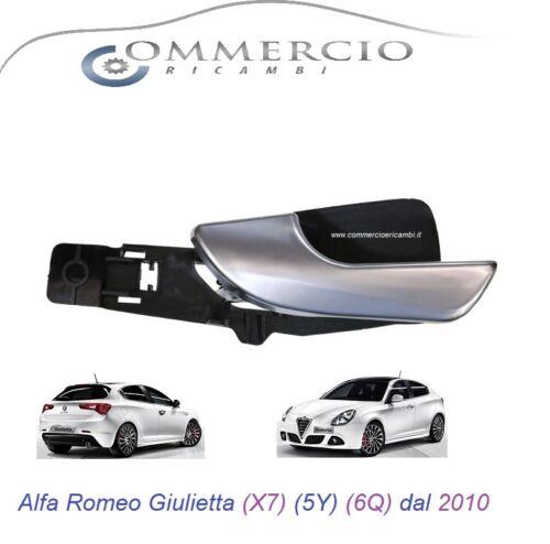 à partir de 2010 Côté Conducteur Gauche X7 5Y 6Q Poignée Interne Giulietta