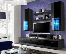 Toledo 3 - Television cabinets / Black glass tv unit / TV Cabinets / TV Stands