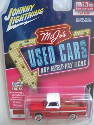 1965 Chevrolet Pickup Truck RED Johnny Lightning used cars Mijo 1:64 OVP RR