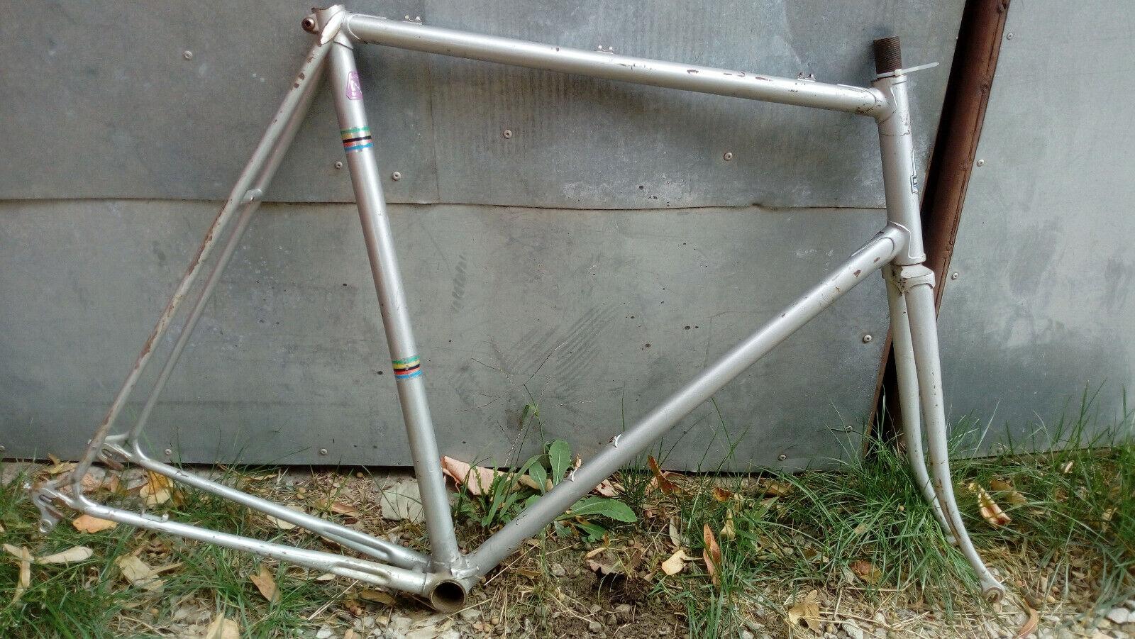 Vintage Vanheste road racing bike frameset, Ishiwata 022 CrMo I.S.Super