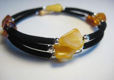 Fine Bracelets Jewelry & Watches Conscientious Elegante Baltischer Bernstein Armband !!! Sale Overall Discount 50-70%