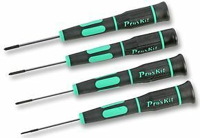 Eclipse Tools SD-081G Pros Kit Tri-Wing Precision Screwdriver Set with 4 Pieces