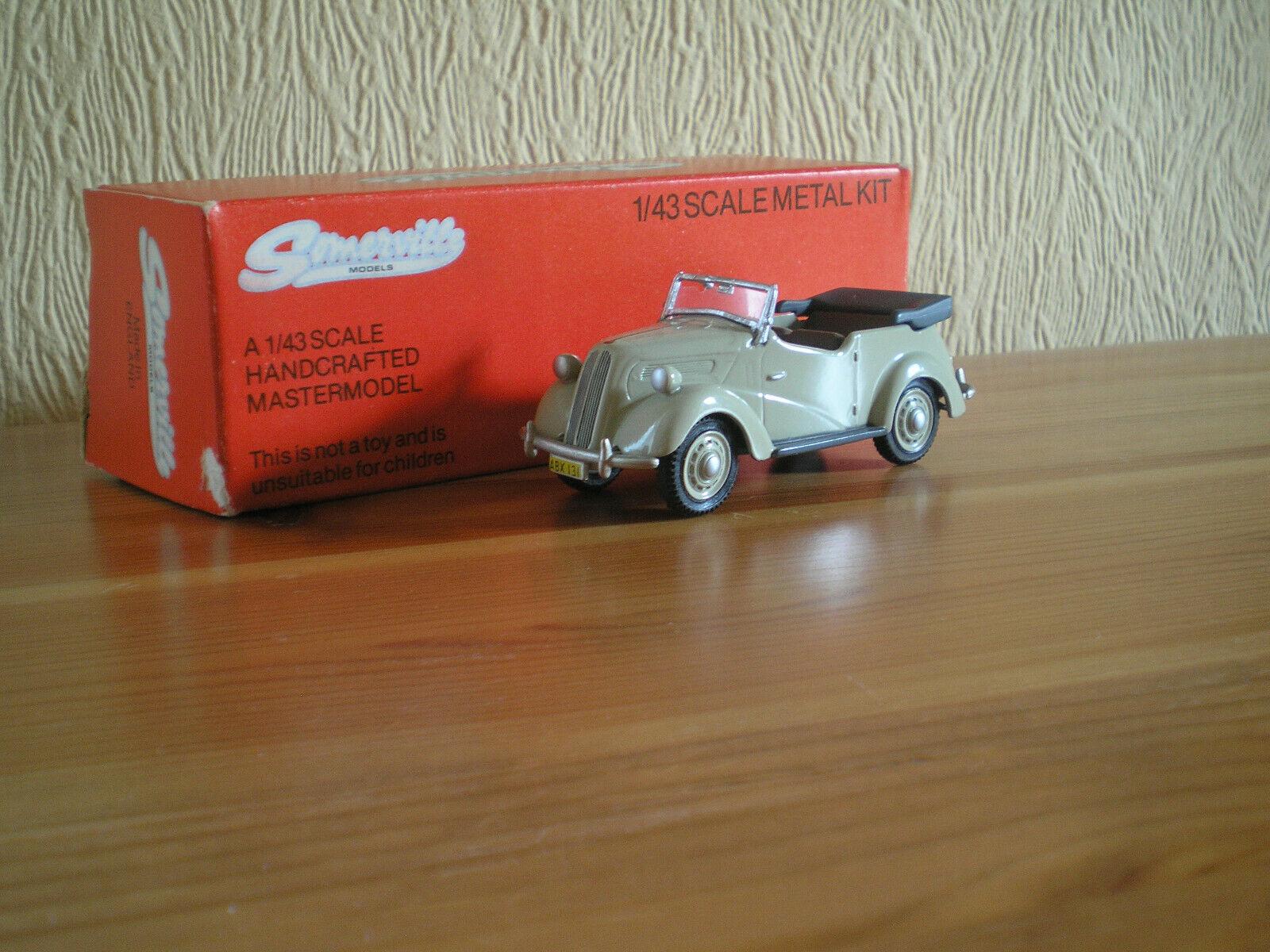 1 43 SOMERVILLE 1949 FORD ANGLIA E494A TOURER