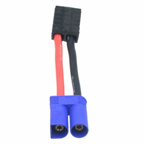 TRX to EC5 Battery Charger cable adapter for Traxxas TLR LiPo TRX TRA2970//2972