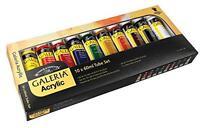 Winsor And Newton Galeria Acrylic 10 Tube Set, New, Free Shipping on Sale