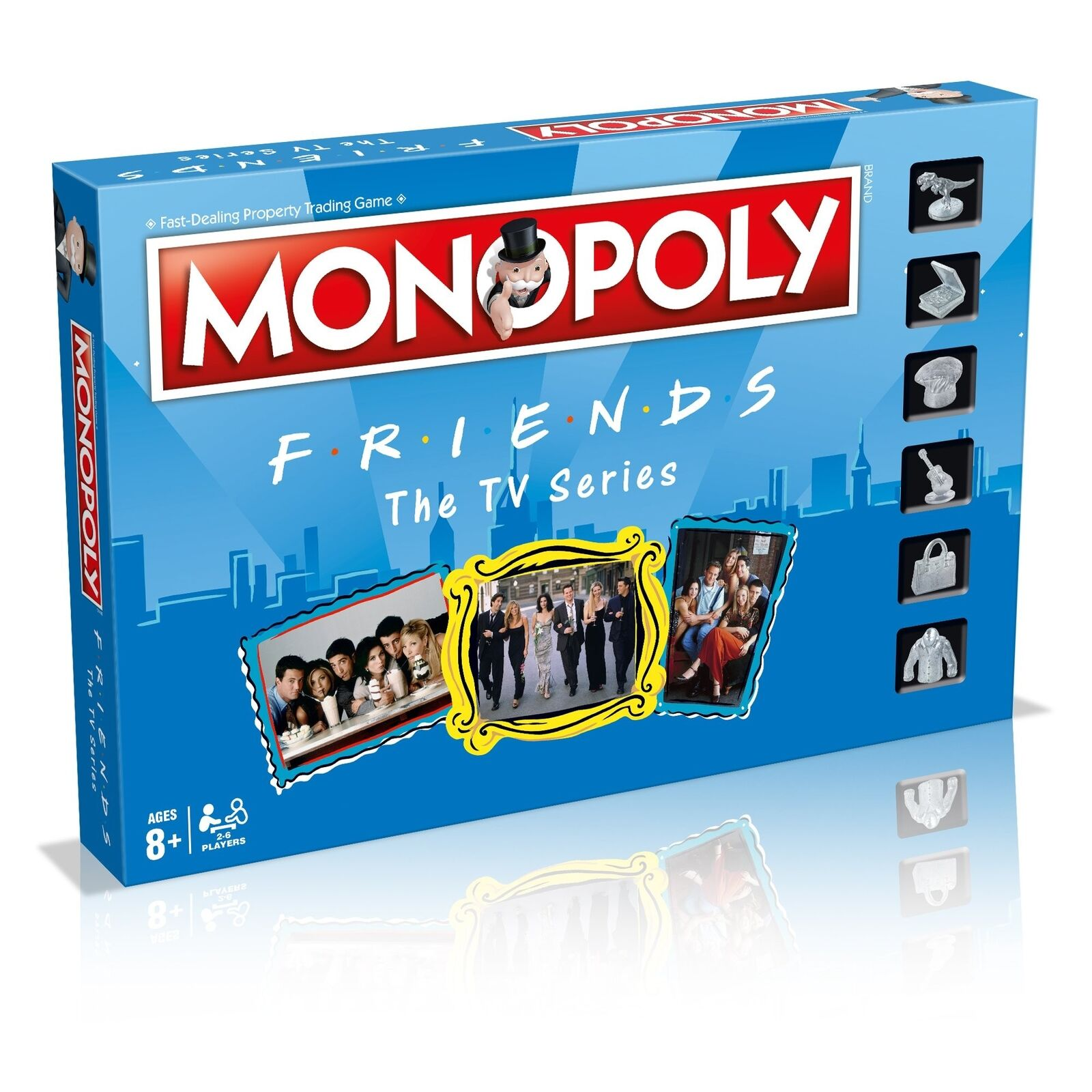 Winning Moves Friends Monopoly Board Game - BNIB - Free delivery