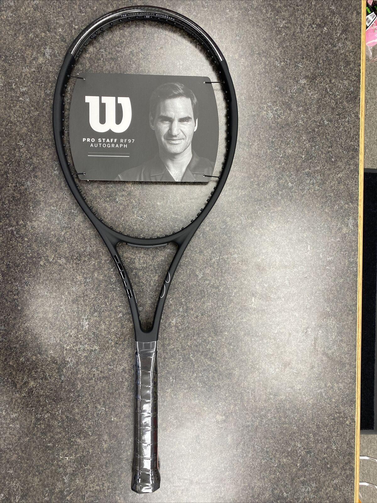 New 2020 Wilson Pro Staff RF97 v13 Roger Federer Autograph 4 3//8 Racket Racquet