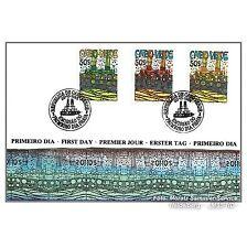 Hundertwasser Kap Verde: Amtlicher Ersttagsbrief (FDC). Kompl. Satz aus Blocks!
