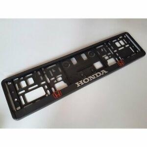 g 2x  Kennzeichenhalter  I HONDA I Neu Kennzeichenhalterung KFZ 2 ECHTE HONDA