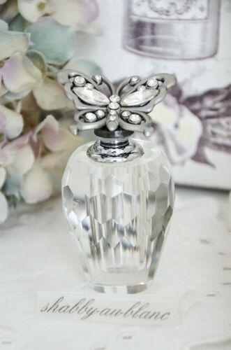 Clayre /& Eef Flacon Parfum Perlen Strass Shabby Vintage Deko Nostalgie Landhaus