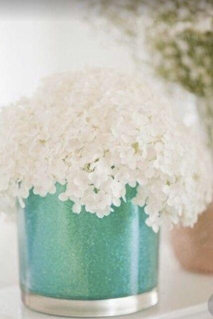 1.3-Pound Koyal Wholesale Centerpiece Vase Filler Decorative Sand Aqua