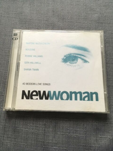 Various Artists - New Woman Cd  (1999) 40 Modern Love Songs