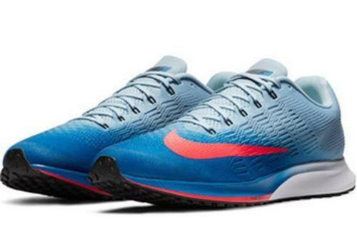 Nike Air Zoom Elite 9 Running shoes bluee Jay Solar Red Size 14 ( 863769-403 )