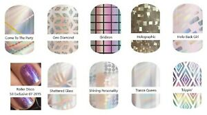 JAMBERRY-NAIL-WRAPS-HOLOGRAPHIC-DESIGNS-COLOR-CHANGING-FULL-SHEETS-FREE-SHIPPING