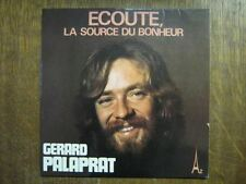 GERARD PALAPRAT 45 TOURS FRANCE ECOUTE