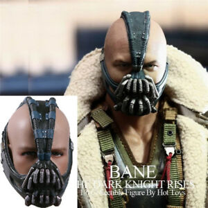 Image is loading Bane-Mask-Batman-Dark-Knight-Halloween-Costume-Solid- & Bane Mask Batman Dark Knight Halloween Costume Solid Latex Cosplay ...