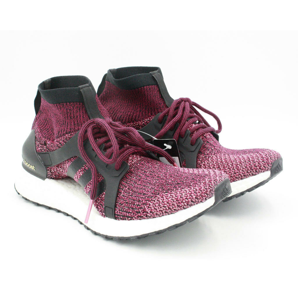 Adidas Women's UltraBOOST X Mystery Ruby shoes Sz 9.5 Burgundy BY1678