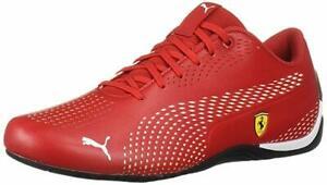 Details about PUMA Men's Ferrari Drift Cat 5 Ultra II Red, Black, White  Sneaker