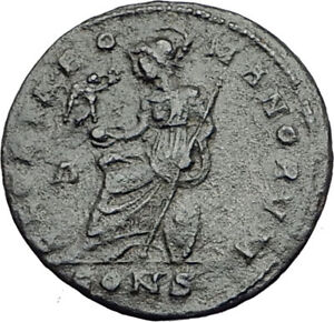 CONSTANTINE-I-the-GREAT-327AD-Constantinople-RARE-Ancient-Roman-Coin-i64847