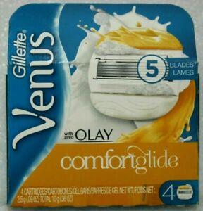 Gillette-Venus-Olay-Razor-Blades-Cartridges-Refills-4-Total-Cartridges