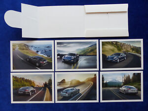 Postkarten 6 Stück Postkarten-set Porsche Panamera S Turbo 4s 6 Postcards Attraktives Aussehen