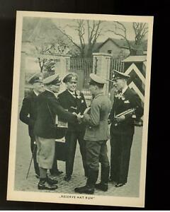 WW 2 Germany third reich guard detail RPPC postcard