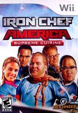 Iron Chef America: Supreme Cuisine (Nintendo Wii, 2008)