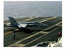 Boeing FA18 Hornet VFA37 Bulls Navy Fighter Aircraft Photograph 8x10 2004