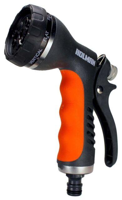 Holman MULTI FUNCTION WATERING GUN 2115H 12mm 8-Pattern Trigger Spray*Aust Brand