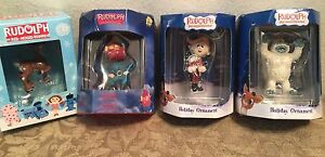 Rudolph red nosed reindeer enesco and american greeting ornaments ebay image is loading rudolph red nosed reindeer enesco and american greeting m4hsunfo
