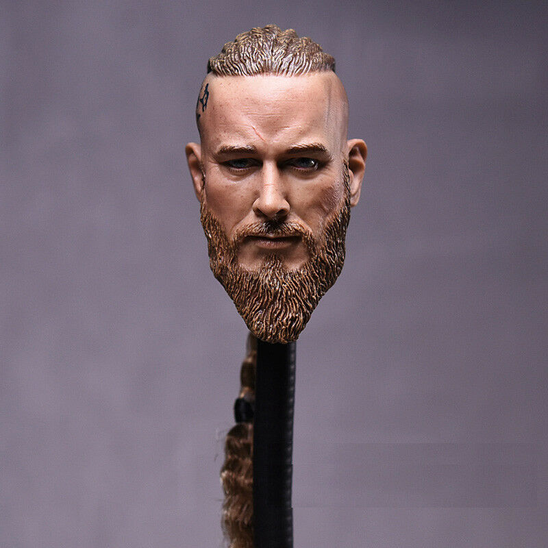 1 6 Viking Male Head Sculpt For For For 12  Hot Toys TBLeague Headplay Male Figure ❶USA❶ a38ffa