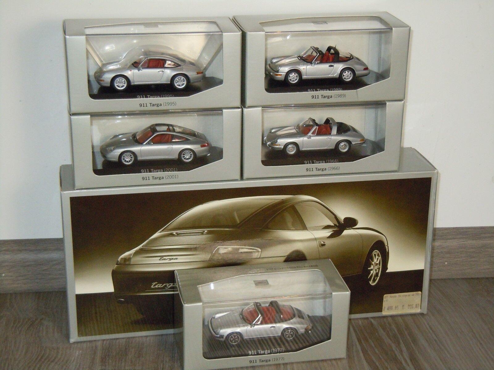 clásico atemporal Porsche 911 Targa Set (5 Coches) - Minichamps WAP WAP WAP 020 1 43 in Box 34687  solo para ti