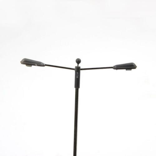 10x Straßenleuchte Lampe Modell 15 cm 1//75 HO Maßstab für Zug Eisenbahn