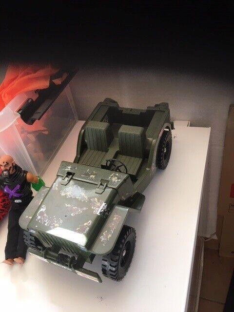 Actionmen, jeep mv