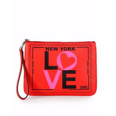 New Rebacca Minkoff Leather New York Travel Pouch S022E001N $95