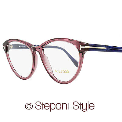 b6f75c1c9eac Tom Ford Oval Eyeglasses TF5358 075 Size  52mm Wine Red Blue FT5358