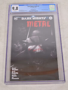 Dark-Nights-Metal-2-DC-2018-NM-Francesco-Mattina-Variant-CGC-9-8-BW-Batman