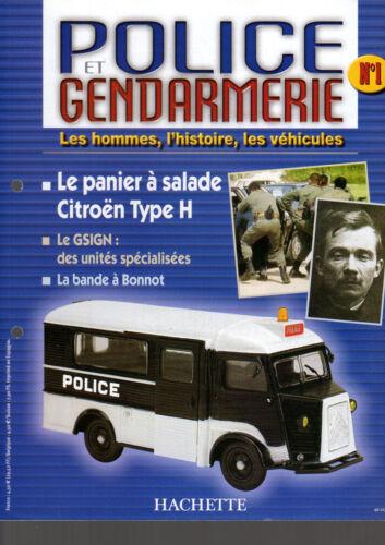 hachette fascicule collection POLICE /& GENDARMERIE livré sans miniature au choix