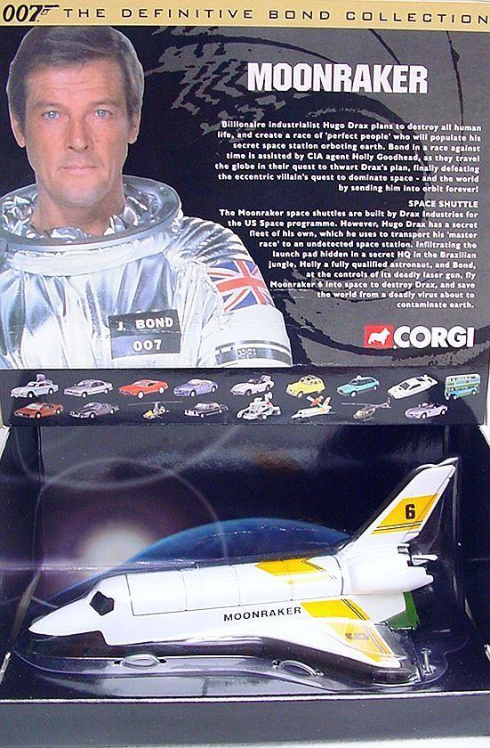 mejor oferta Corgi Corgi Corgi Juguetes James Bond 007  Moonraker 6  Transbordador Espacial cc04001 Mib 2da. Ed. Rara   descuento