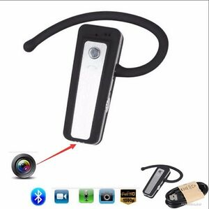 1080p hd mini hidden bluetooth headset camera wearable video recorder cam dvr ebay. Black Bedroom Furniture Sets. Home Design Ideas