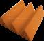 Acoustic-Foam-48pcs-PRO-PACK-Orange-Wedge-12X12x4-034-Soundproof-Studio-tiles thumbnail 5