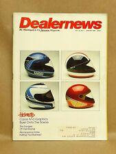 Vintage Motorcycle Dealer News Magazine January 1986 ATV Helmets Long Beach