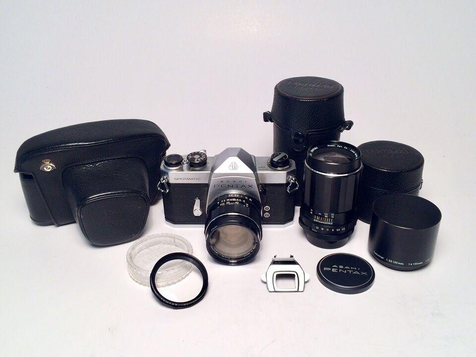 Pentax, Pentax Asahi SP Spotmatic, spejlrefleks