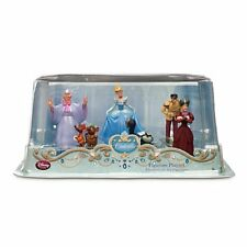 Authentic Disney Store CINDERELLA Cake Topper 6 Figure Play Set Brand New