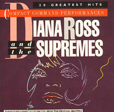 DIANA ROSS & THE SUPREMES - 20 Greatest Hits (1984 CD)