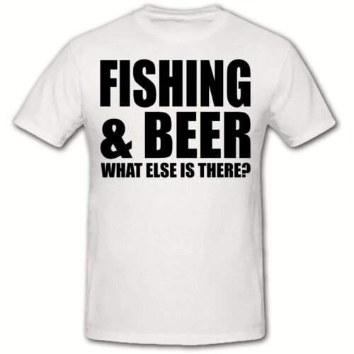 SM-3XL FISHING /& BEER MEN/'S FUNNY NOVELTY T SHIRT SLOGAN T-SHIRT.