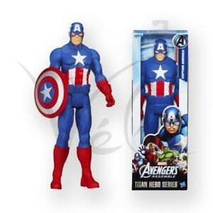 Marvel-Avengers-Captain-America-12-Inch-Action-Figure-Titan-Hero-Series-30Cm-Toy